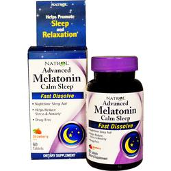 Natrol Advanced Melatonin Calm Sleep