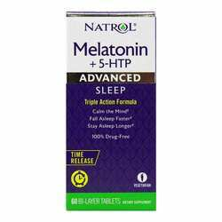 Natrol Advanced Sleep Melatonin + 5 HTP Time Release
