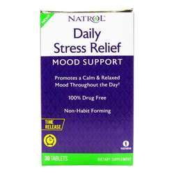 Natrol Daily Stress Relief - Mood Support