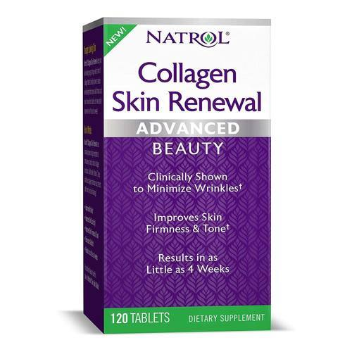 Natrol Collagen Skin Renewal  - 120 Tablet - 350118_front.jpg
