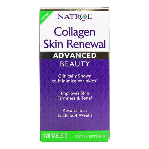 Natrol Collagen Skin Renewal - 120 Tablet - 350118_front12020.jpg