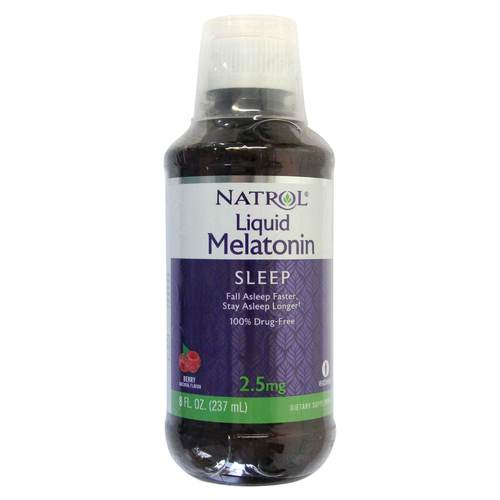 Natrol Melatonin 2.5mg  - 8 oz - 350119_front.jpg