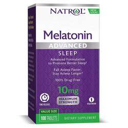 Natrol Advanced Sleep Melatonin 10 mg