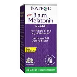 Natrol 3 a.m. Melatonin