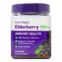 Natrol Elderberry 100 mg Gummies