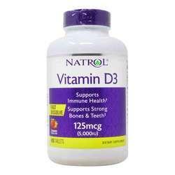 Natrol Vitamin D3 5000IU