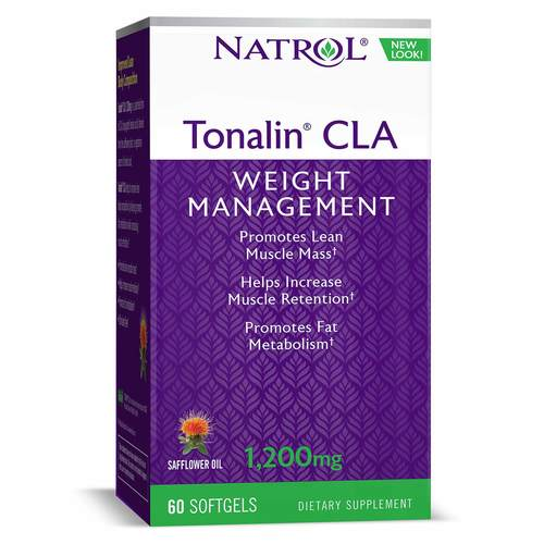 Natrol Tonalin CLA - 1,200 mg - 60 Softgels - 469_front.jpg