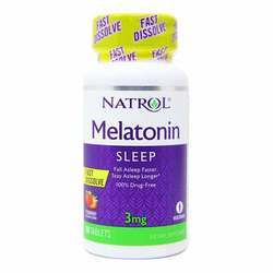 Natrol Melatonin 3 mg Strawberry Flavor
