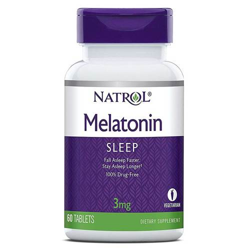 Natrol Melatonina - 3 mg - 60 Tabletas - 5408_front.jpg