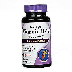 Natrol Vitamin B12 5000 mcg Fast Dissolve