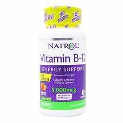 Natrol Vitamin B12 5000 mcg