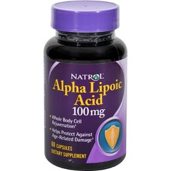 Natrol Alpha Lipoic Acid 100 mg