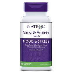 Natrol SAF Stress  Anxiety Formula