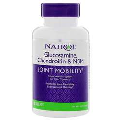 Natrol Hyaluronic Acid MSM  Glucosamine