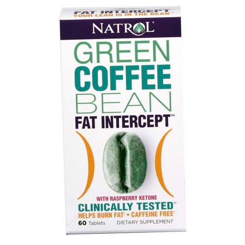 Green Coffee Bean Fat Intercept with Raspberry Ketone