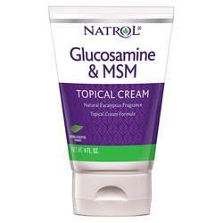 Natrol MSM Glucosamine Cream