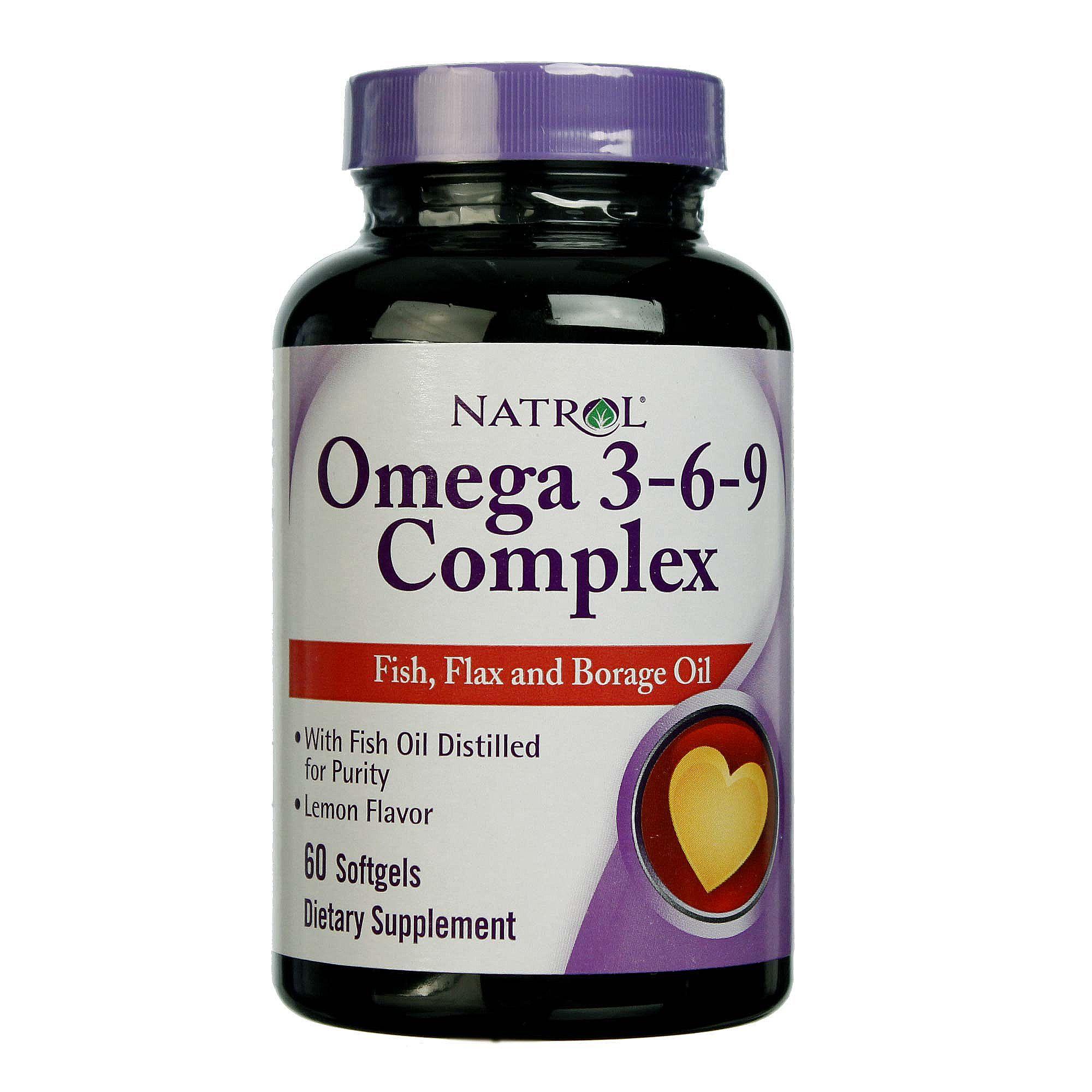 Natrol Omega 3 6 9 Complex 850 Mg 60 Softgels Evitamins India