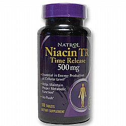 Natrol Niacin 500 mg Timed Release