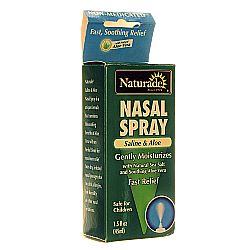 Naturade Saline and Aloe Nasal Spray
