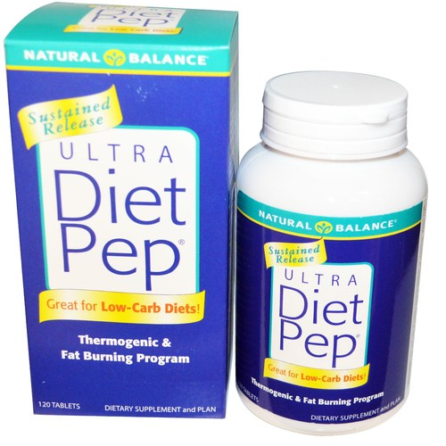Ultra Diet Pep by Natural Balance - 120 粒 - 13253_01.jpg