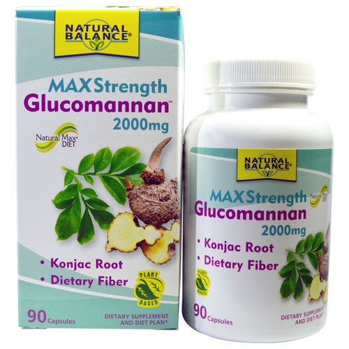 Max Strength Glucomannan 2000 mg