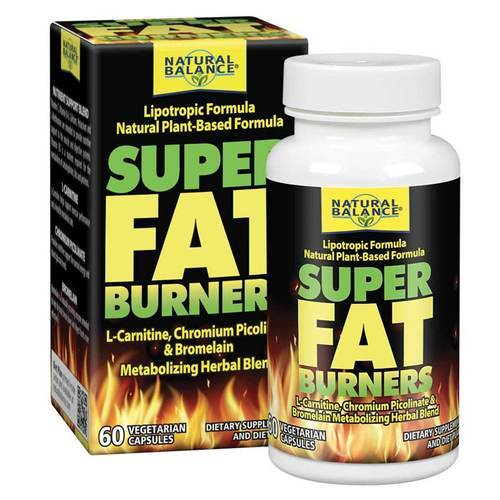Natural Balance Super Fat Burners - 60 Veg Caps - 3149_front.jpg