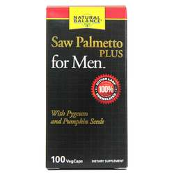 Natural Balance Saw Palmetto PLUS for Men