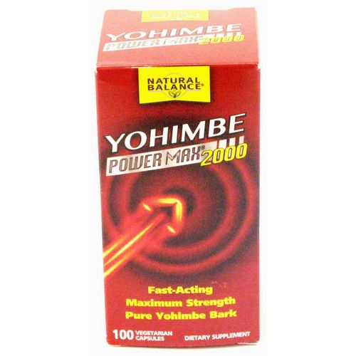 Natural Balance Yohimbe Power Max 2000 - 100 VCapsulesules