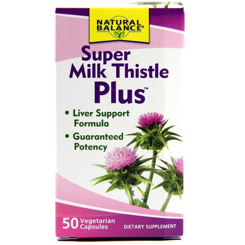 Natural Balance Super Milk Thistle Plus  - 50 VegCaps - 637_1.jpg