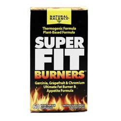 Natural Balance Super Fit Burners  - 60 Capsules