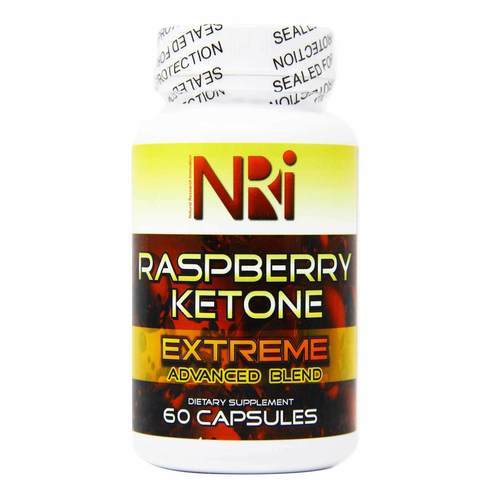 Natural Research Innovation Raspberry Ketone Extreme  - 60 Capsules - 34982_front2019.jpg