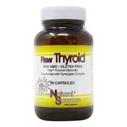 Natural Sources Raw Thyroid