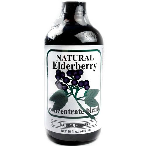 Elderberry Juice Concentrate Blend