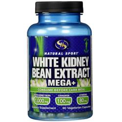 Natural Sport White Kidney Bean Extract Mega+