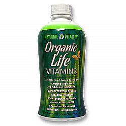 Natural Vitality Organic Life Vitamins
