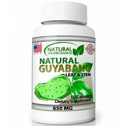 Natural Vitamin Source Natural Guyabano Leaf  Stem