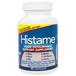 Naturally Histame Food Intolerance Support Supplement
