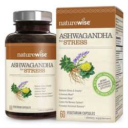 NatureWise Ashwagandha for Stress