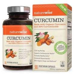 NatureWise Curcumin- 2250mg- 90 Capsules