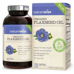NatureWise Organic Flaxseed Oil