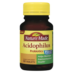 Nature Made Acidophilus Probiotics