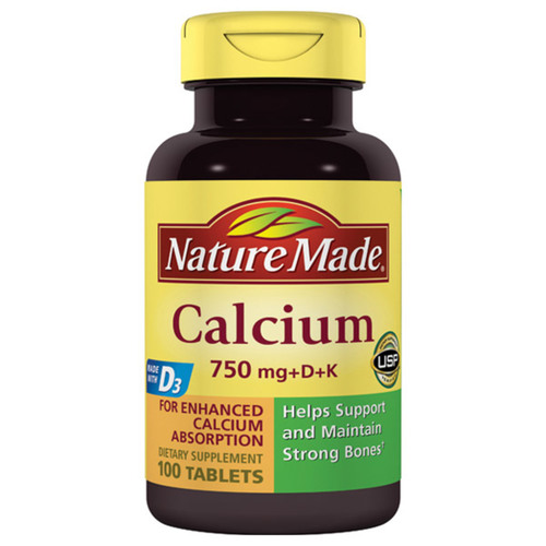 Calcium with Vitamins D3 and K