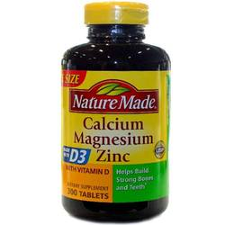 Nature Made Calcium Magnesium Zinc
