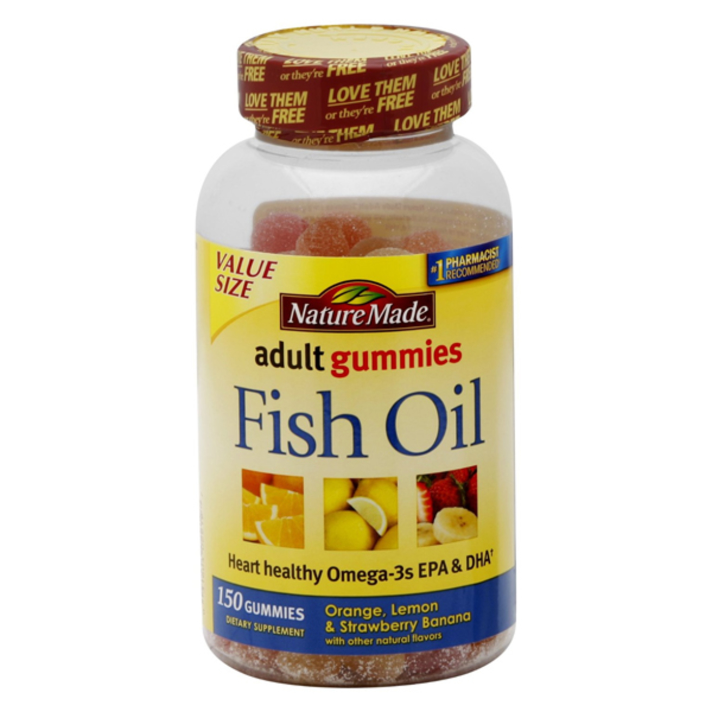 Nature made fish oil gummies 150 gummies for Nature made fish oil gummies