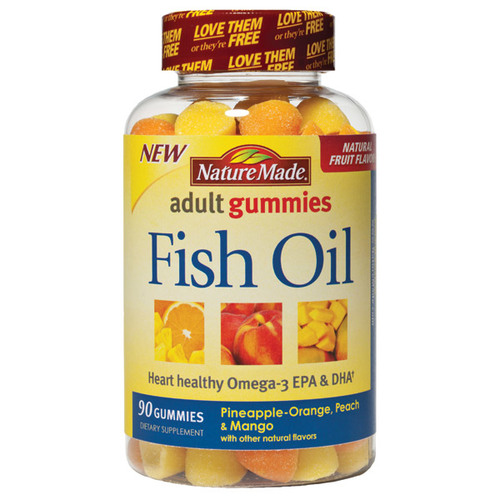 Fish Oil Adult Gummies