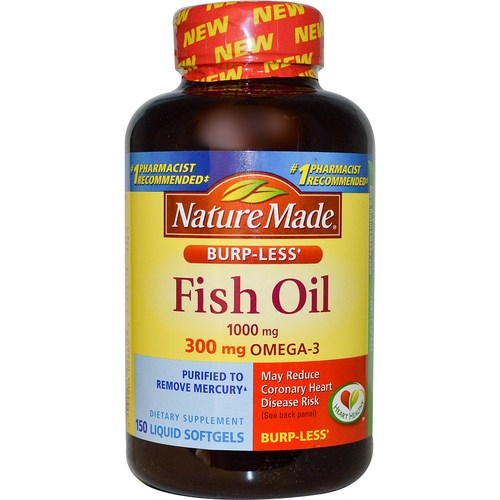 Burp-Less Fish Oil