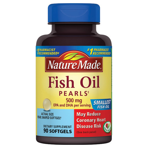 Fish Oil Pearls 500 Mg