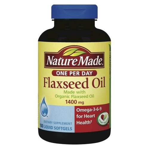 Nature Made Flaxseed Oil Omega