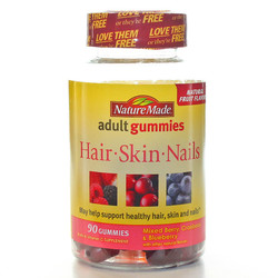 Nature Made Hair Skin  Nails Adult Gummies