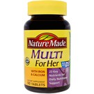 Nature Made Multi For Her With Iron & Calcium